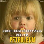 cancer causing snacks