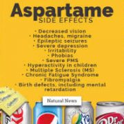 Aspartame side effects