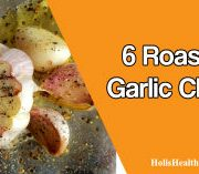 Eating 6 roasted garlic cloves
