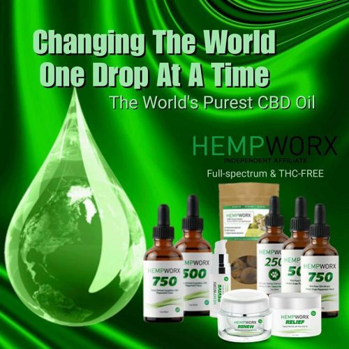 full spectrum CBD Oil products hempworx